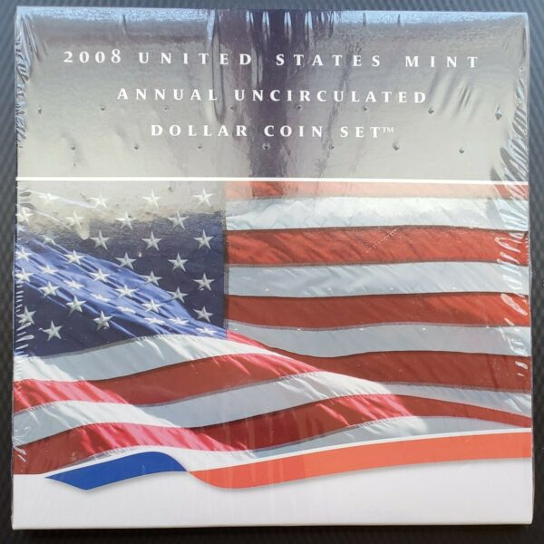 US Mint Annual Uncirculated Dollar Coin Set